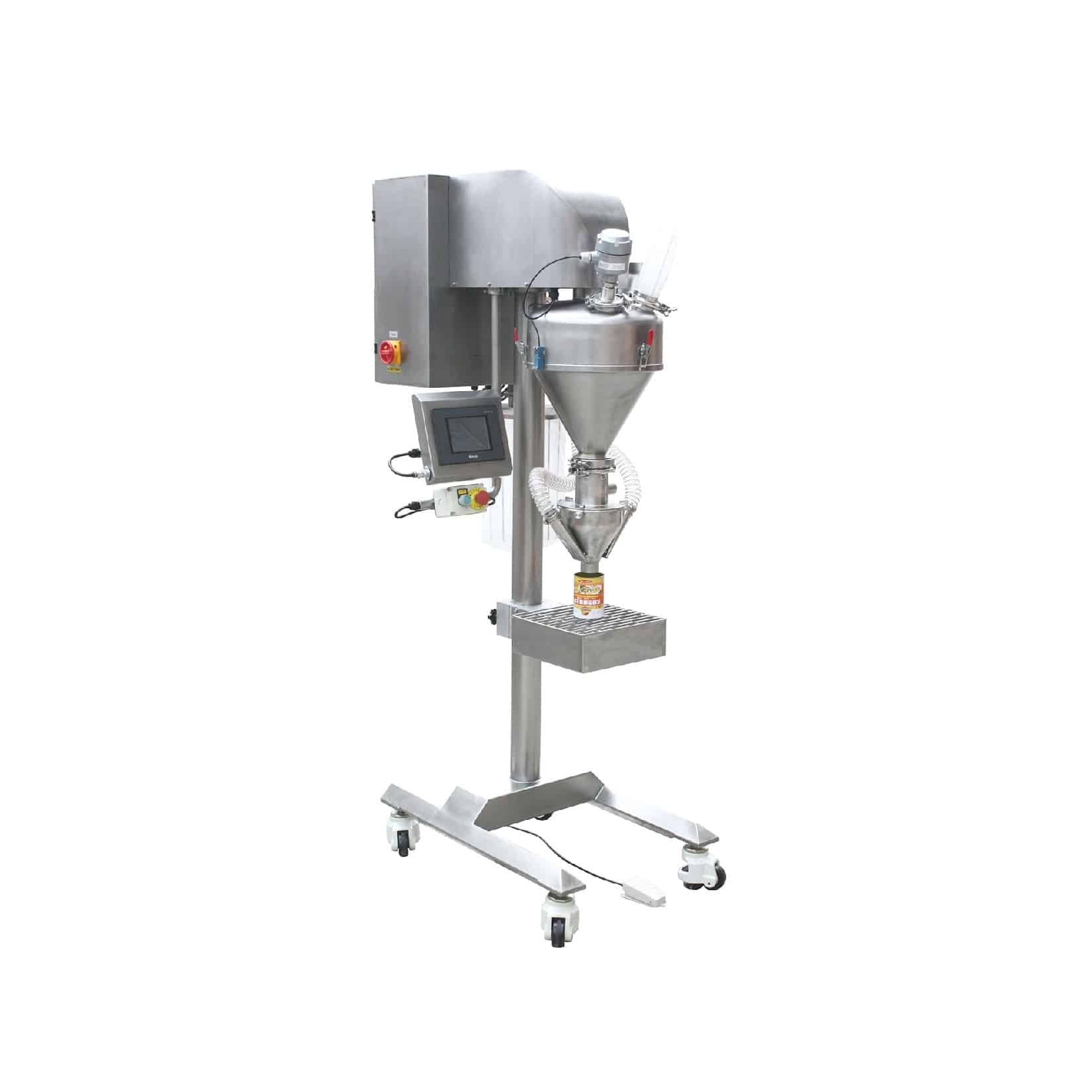 Półautomatyczny dozownik ślimakowy   – DAS350/450