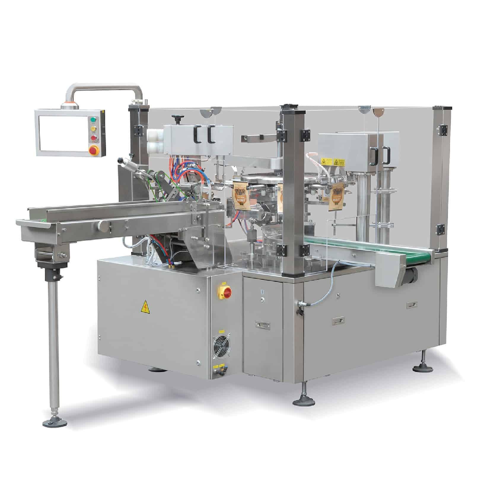 Rotacyjny/karuzelowy automat do gotowych torebek – RP8-D