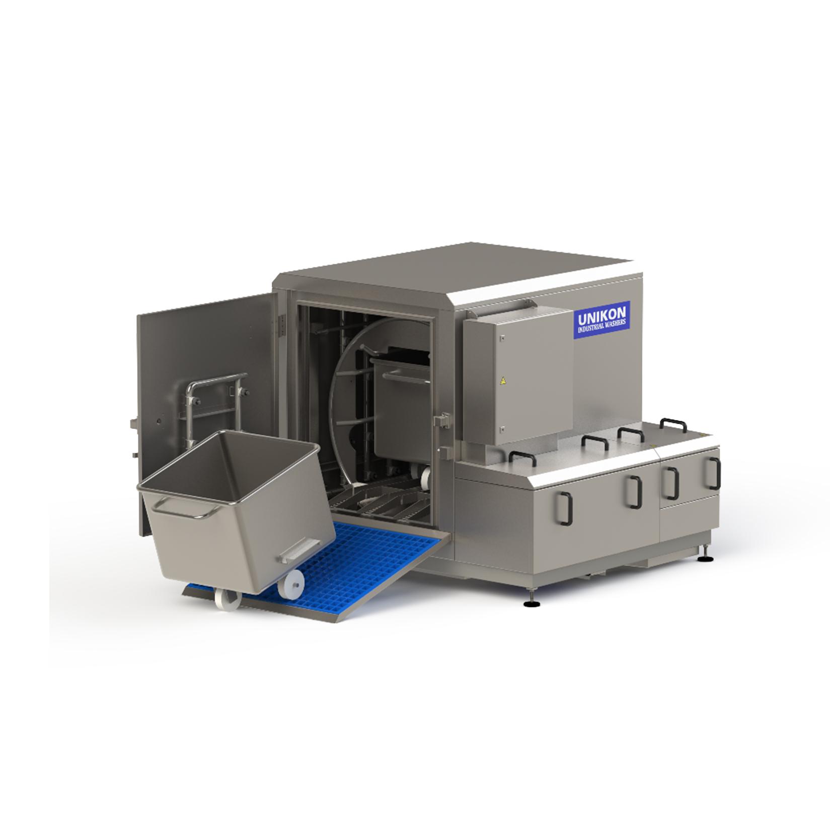 Bin/container washer – Unikon