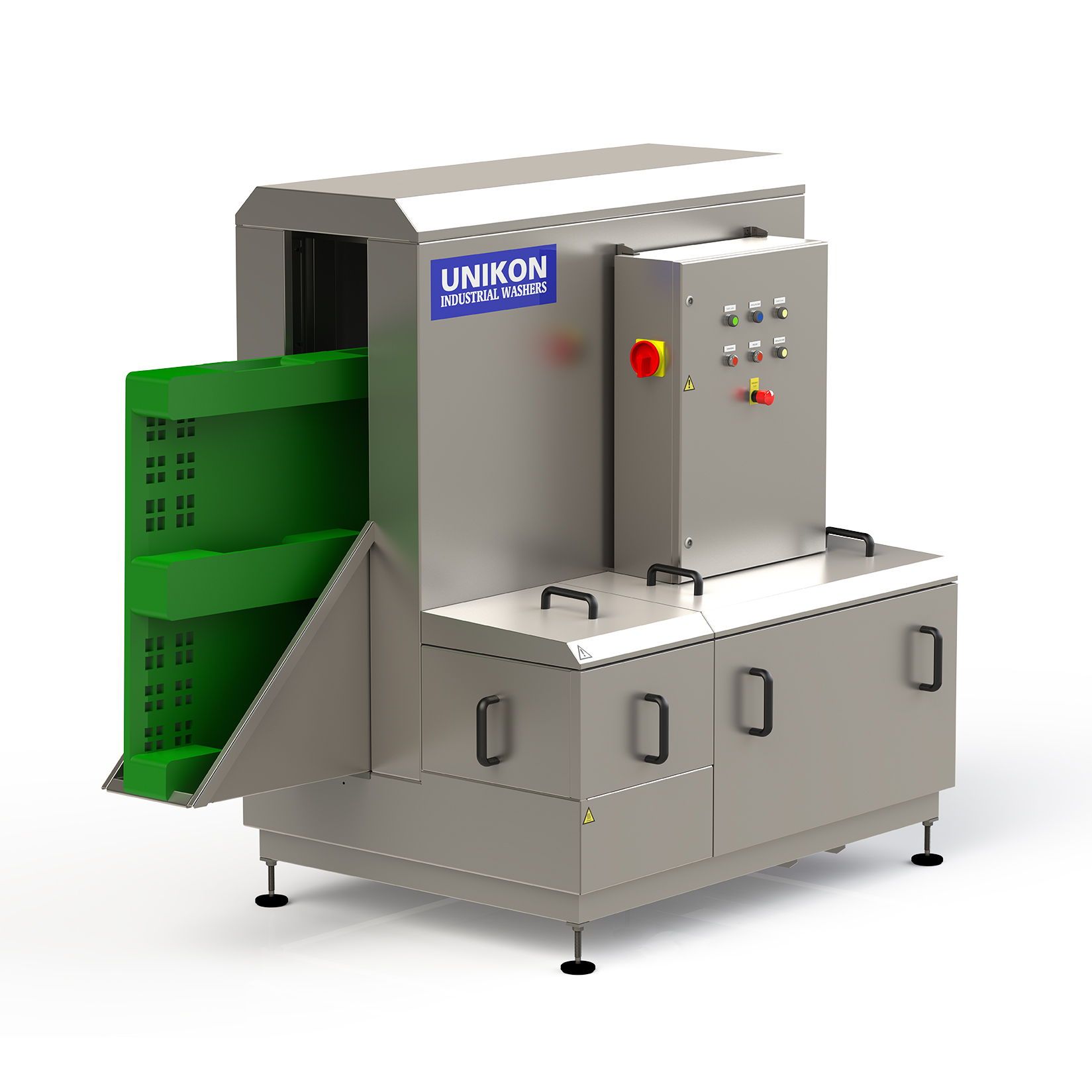 Pallet/divider washer – Unikon