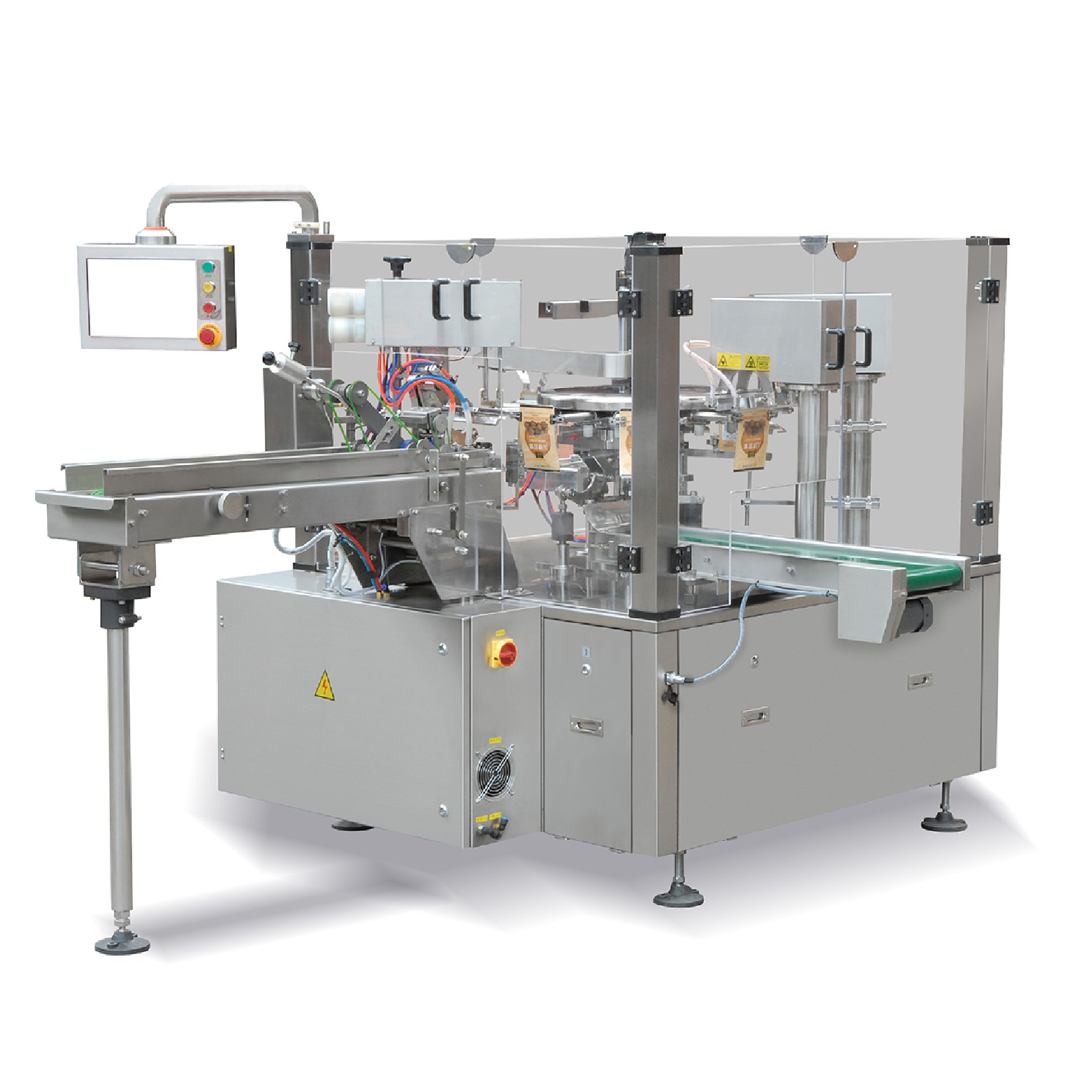 Rotary preformed pouch packing machine – RP8-D