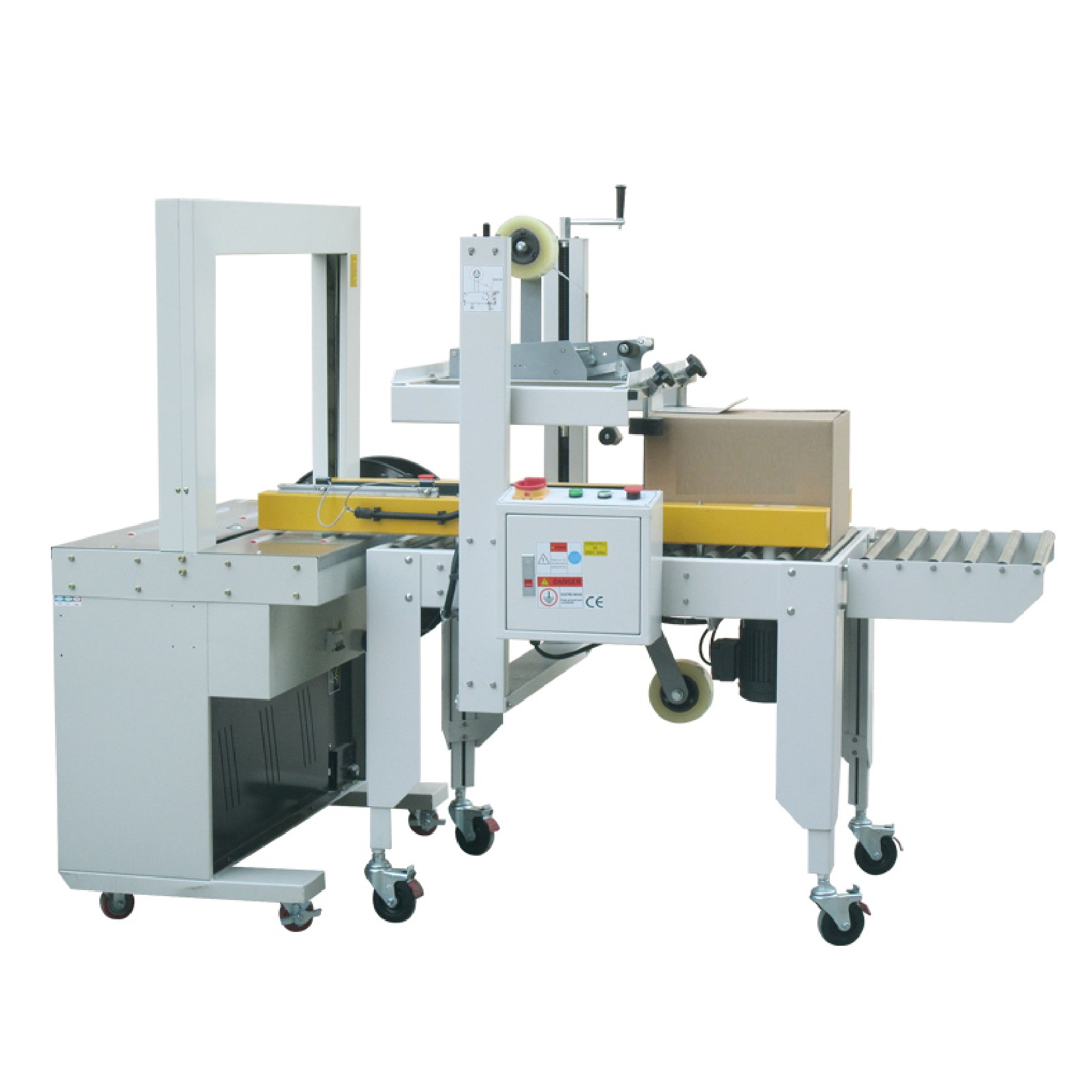 Carton sealer and strapping – OCSS-50A